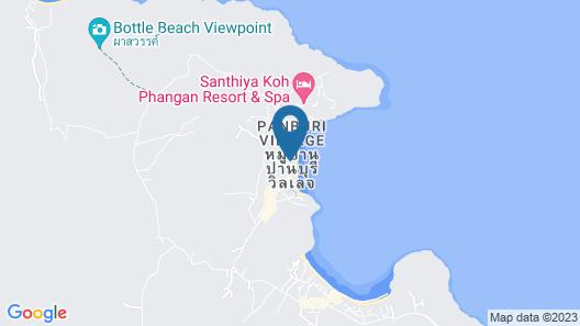 Buri Rasa Koh Phangan Map
