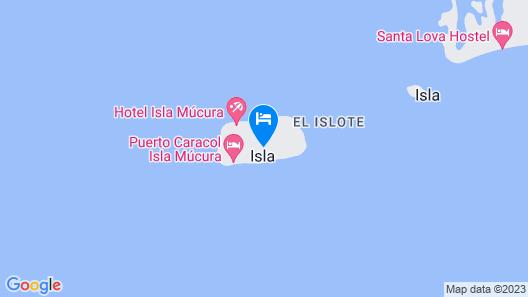Hotel Isla Mucura Map