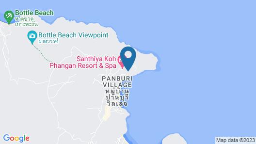 Santhiya Koh Phangan Resort & Spa Map