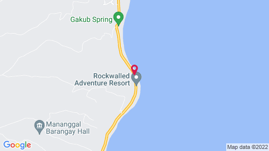 Canoy's Mansion 4-bed Villa in Dalaguete Map