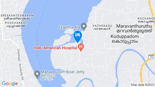 Kalathil Lake Resort Map