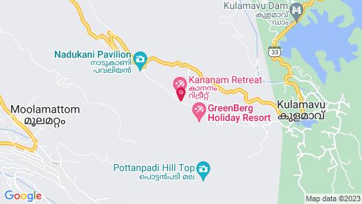 Kananam Retreat Map