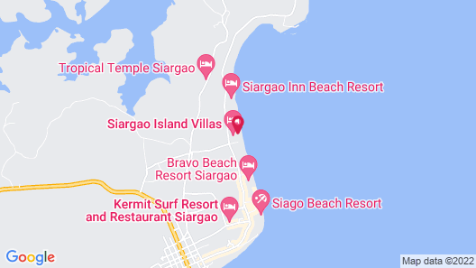Siargao Island Villas Map