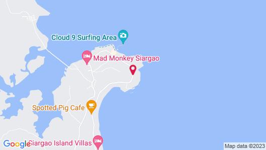 Siargao Bleu Resort And Spa Map