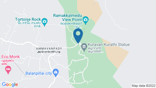 WindHaven Resort Map