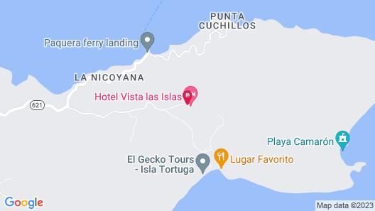 Eco Boutique Hotel Vista Las Islas Reserva Natural Map