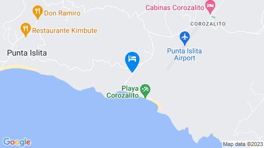 Hotel Palma de Oro Map