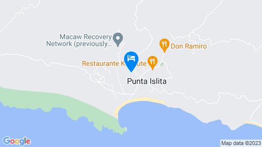 Punta Islita, Autograph Collection Map