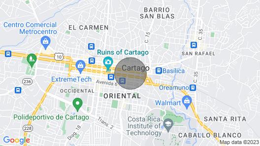 Villa Panchoy A Map