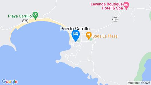 Hotel Guanamar Map