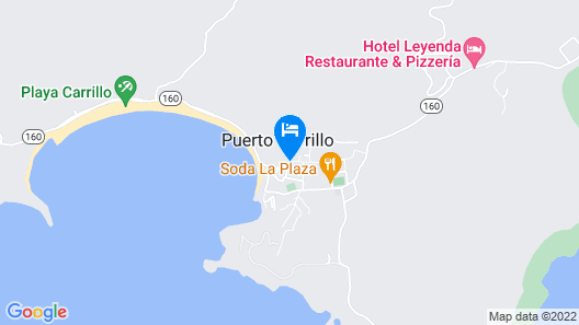 La Posada Bed & Breakfast Map