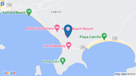 Azura Beach Resort - All Inclusive - Adults Only Map