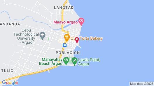 Baluarte de Argao Beach Resort Map