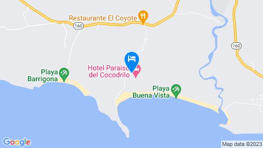 Flying Crocodile Map