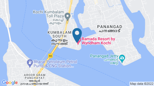 Ramada Resort by Wyndham Kochi Map