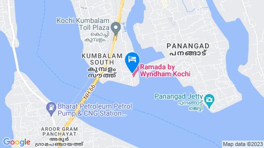 Ramada Resort by Wyndham Kochi Map