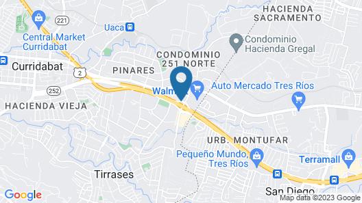 Hyatt Place San José/Pinares Map