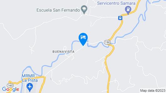 Finca Lucky Casa Guanacaste Map