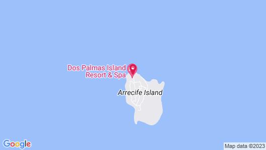 Dos Palmas Island Resort & Spa Map