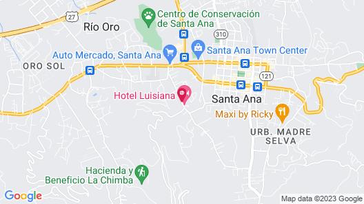 Hotel Luisiana Map