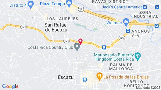 Apartotel & Suites Villas del Rio Map