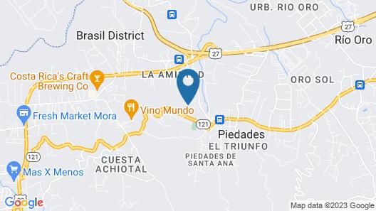 Posada Canal Grande Map