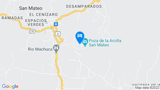 Poza Blanca Lodge Map