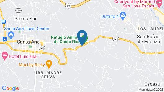 Hotel Alta Las Palomas Map