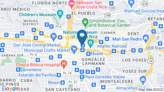 Sleep Inn Hotel Paseo Las Damas Map