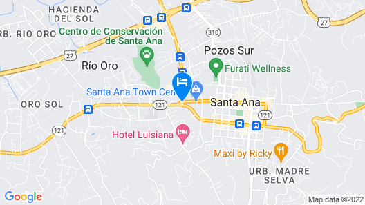 Studio Hotel Boutique Map