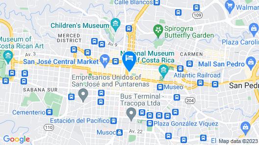 Hotel El Maragato Map
