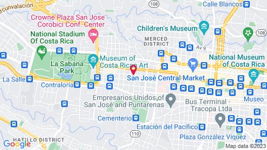 Casa Aldea Map