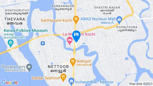 Crowne Plaza Kochi, an IHG Hotel Map