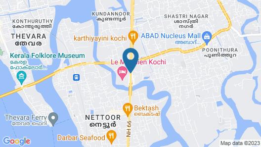 Le Meridien Kochi Map