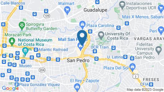 Apartotel Tairona Map