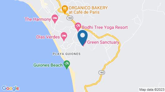 Green Sanctuary Hotel Map