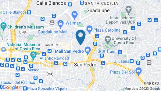 DSCVR - The Garden San José Map
