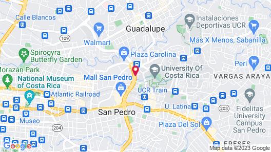 Hotel Ave del Paraíso Map