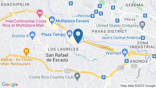 Residence Inn by Marriott San Jose Escazu Map