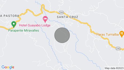 Finca Caragra. Unbelievable Cabin-turrilaba/ Luxury & Tradition Map