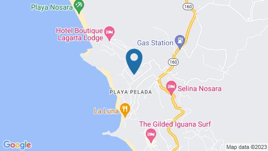 Teak Pacific Hotel Map