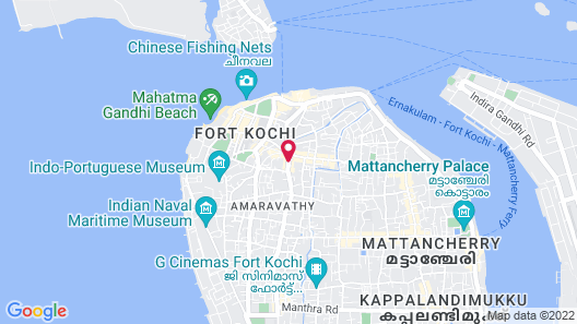 Tissa's Inn Map