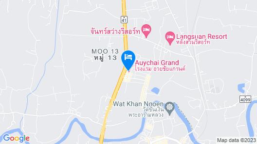 Auychai Grand Hotel Map