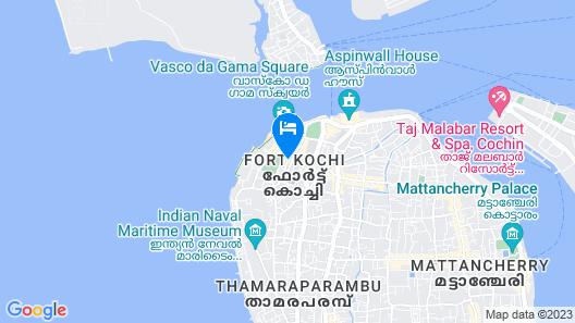 Niyati - Boutique Stay Map