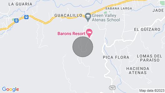 Private Villa in Paradise, Breathtaking Views Map