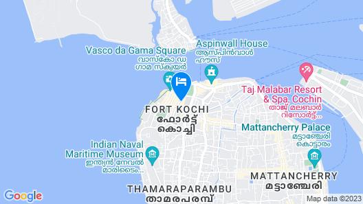 Hotel Bright Heritage Map