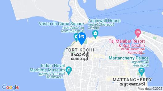 Forte Kochi Map