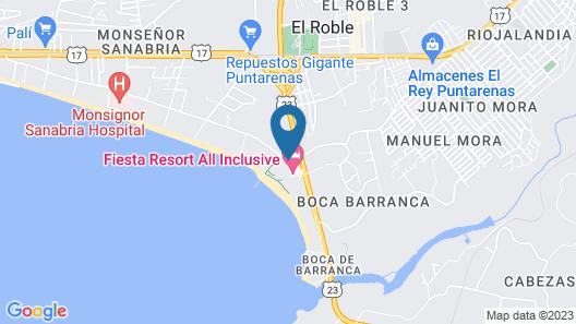Fiesta Resort Central Pacific - All Inclusive Map