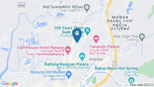 Blu Monkey Hub & Hotel Ranong Map