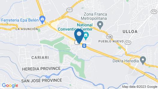 Hotel Puerta del Sol Map